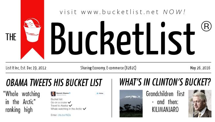 BucketList paper